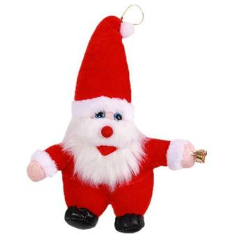 Hang-Qiao Santa Claus Novelty Toy Christmas Gift Doll Red