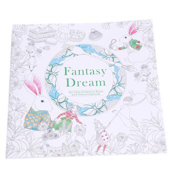 Hang Qiao Secret Garden Nella Fantasia Coloring Book Black And White