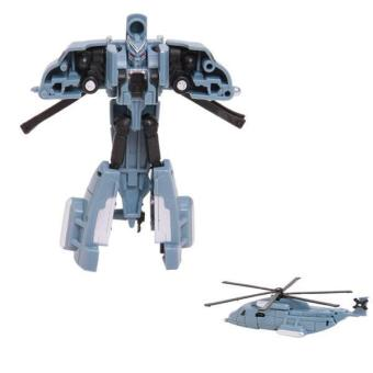 Hang-Qiao Transformation Cars Robot Model Toys Kids Classic Gifts Storm