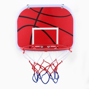 Hanging Mini Basketball Netball Hoop For Indoor Outdoor Kids GameToy With Air Pump - intl