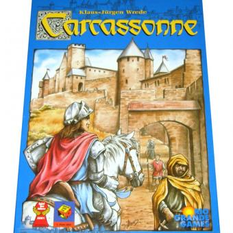 HAPPY KIDS Carcassonne Fun anf Learning Board Game