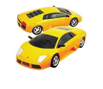 Happy Well 1:32 Lamborghini 3D Puzzle Assemble (yellow)