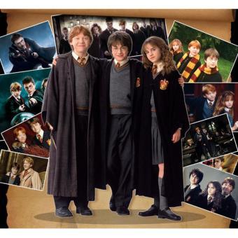 Harry Potter Cosplay Clothing Harry Children Kids Adult Magic COS Uniforms Clothing Adult Models SZIE S 145-155CM - intl - 2