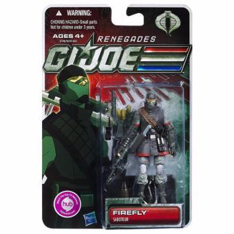 """Hasbro 653569657187 Renegades G.I.Joe """"Firefly"""" Saboteur Action Figure ORIGINAL*"""