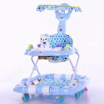 Height Adjustable,Musical,Soft Cushion Baby Walker armrests