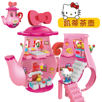 Hello Kitty Children assembled plug KT doll toys