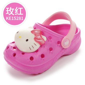 Hello Kitty children's slip porous shoes children's sandals