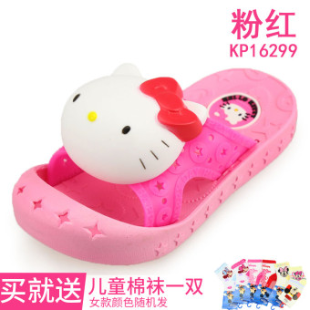Hello Kitty cute slip Baobao home shoes children's slippers