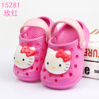 Hello Kitty soft bottom summer shoes