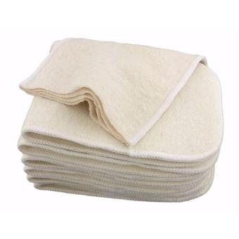 Hemp Organic Cotton 4-Layer Cloth Diaper Insert