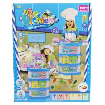 High Quality Super Kitchen Set With Music and Lights 666-187