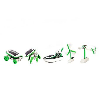 HKS 1 Piece Children DIY Educational Assemble And Install Robot Dog Toys (Green) - Intl - picture 2