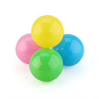 HKS 50pcs 5.5cm Colorful Soft Plastic Water Pool Ocean Ball Baby Kid Swim Pit Toy - Intl