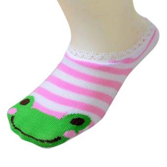 HKS Baby Childrens Socks Slippers Anti Non slip Cute - Intl