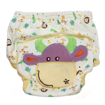 HKS Baby Diaper Nappy Diaper Covers Potty Training Pants (cow) - Intl
