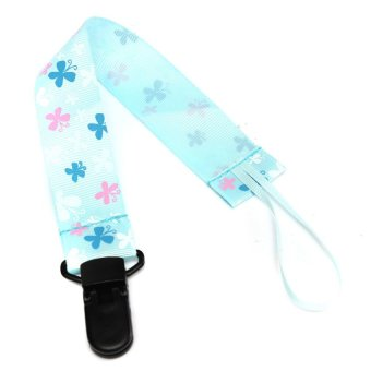 HKS Baby Pacifier Soother Clip Holder Strap - Intl