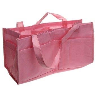HKS Bag Mommy Shoulder Divider Handbag (Pink) - Intl
