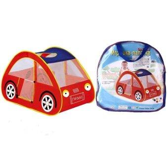 HKS Children Kids Indoor Outdoor Tent Hut Playhouse Car Design Red - Intl - picture 2