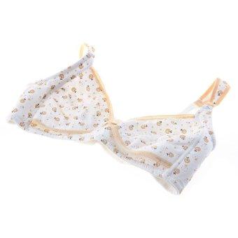 HKS Maternity Pregnant Nursing Breastfeeding Bra Underwear Cotton 95C Women (Yellow) - Intl - picture 2