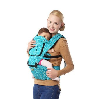 HKS Multi-function Carriers Baby Sling for Mommy (Blue) - Intl