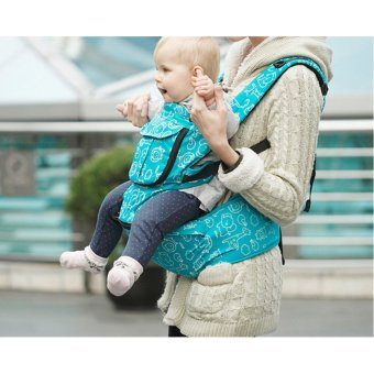 HKS Multi-function Carriers Baby Sling for Mommy (Blue) - Intl - picture 2
