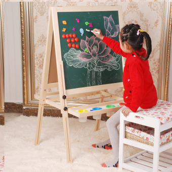 Home double-sided magnetic small blackboard children Sketchpad