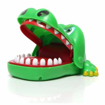 Homu Crocodile Mouth Dentist Finger Bite Toy Game (Small)