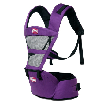 Hot Selling Fashion Breathable Baby Carriers Shoulders Backpack-Purple - Intl