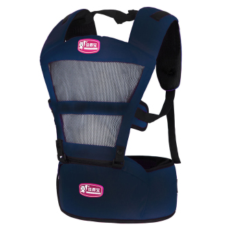 Hot Selling Fashion Breathable Baby Carriers Shoulders Backpack-Royal Blue - Intl Price Philippines