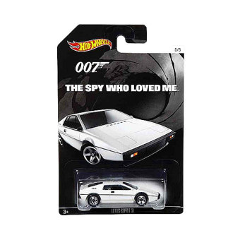 Hot Wheels 1:64 James Bond Car - Lotus Espirit 1 Price Philippines