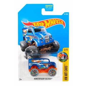Hot Wheels Basic Car - Monster Dairy Delivery DC:962H