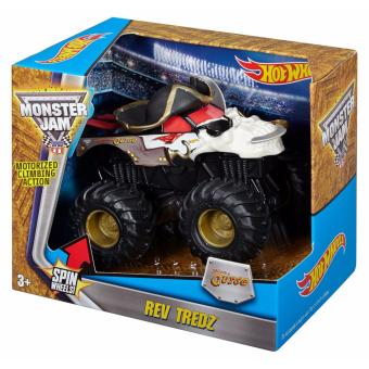 Hot Wheels Monster Jam Rev Tredz 1:43 - Pirates Curse Price Philippines