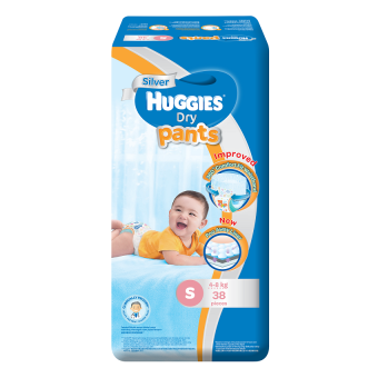 Huggies Dry Pants Small 38's - 2