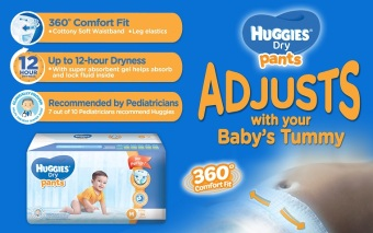 Huggies Dry Pants Small 38's - 4