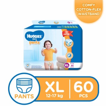 Huggies Dry Pants XL - (60 pcs)