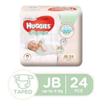 Huggies Platinum Diaper Just Born 24's
