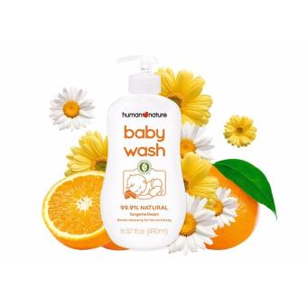 Human Nature Baby Wash Tangerine Dream 490ml