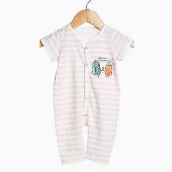 Hush Hush Baby Girls Together Forever Bodysuit Set (Pink) Price Philippines