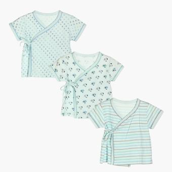 Hush Hush Boys Dog Tie-side Top Set (Turquoise) Price Philippines