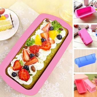 iBelieve Silicone Kitchen Bread Loaf Cake Mold Non-Stick Bakeware Baking Pan Oven Mould - intl Price Philippines