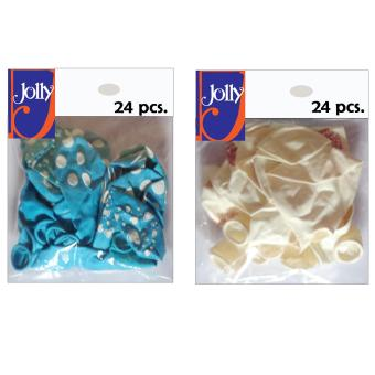 Happy Birthday Balloons 24`s Sky Blue & 24`s White Price Philippines