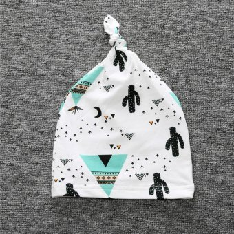 LALANG Baby Infant Cotton Hat Skull Cap (12#) - intl Price Philippines