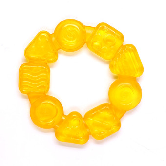 Baby Steps Soothing Circle Teether (Yellow) Price Philippines