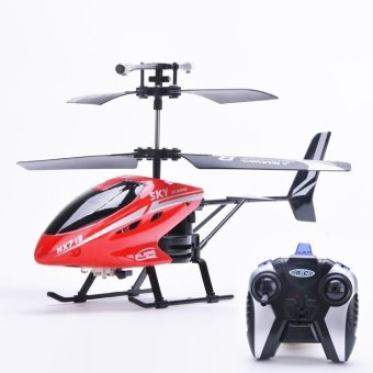 Remote Control Electric LED Head Light Outdoor Helicopter Toys (Red) Price Philippines