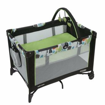 Harga Graco Pack N Play Playard with Bassinet, BEAR TRAIL