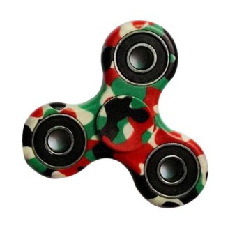 Fidget Spinner Triangle Single Finger Decompression Gyro Multicolor - intl Price Philippines