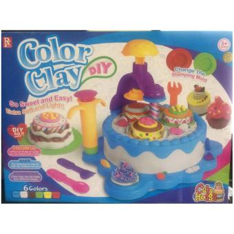 Harga Color Clay DIY Cake House