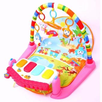 Baby Game Kingdom Discover 'n Grow Kick and Play Piano Activity Play Gym(Pink) Price Philippines