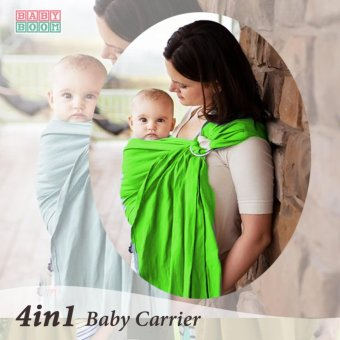 Baby Boom Ring Sling Baby Carrier (Neon) Price Philippines
