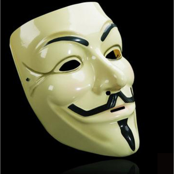 Harga V Face Mask For Vendetta Mask Film Guy Fawkes Fancycosplayanonymous Halloween Masks Fancy Dress Costume - intl
